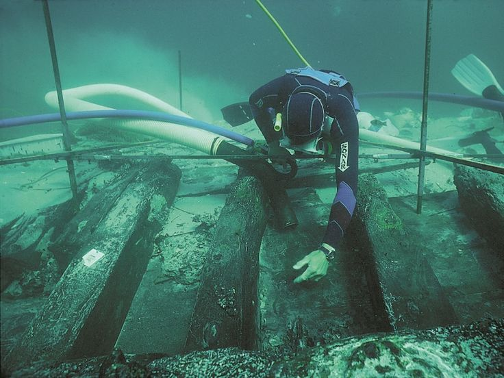 Maritime Archaeology | marine archaeology excavation equipment water dredge