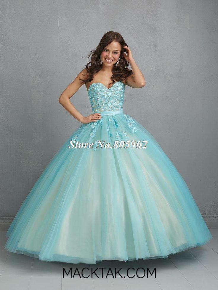 Custom Made Sweetheart Sleeveless Appliqued Light Purple Ball Gown Quincenera Dresses 2014 Fashion Cheap Quinceanera Gowns QD22