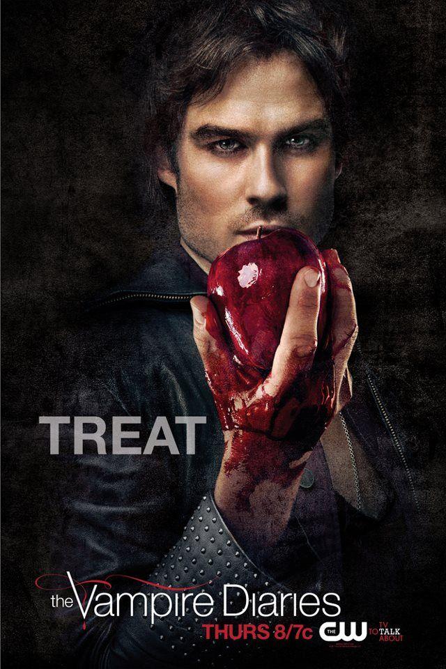 Sucesso no Brasil, muitas pessoas se encantaram com a série The Vampire Diaries.