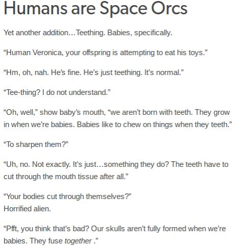Humans Are Weird / Space Australia Teething