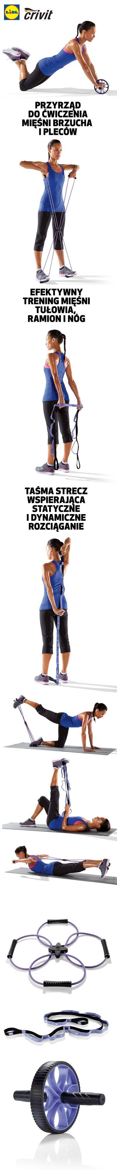 Niewielkie przyrządy do ćwiczeń zmieszczą się w każdej domowej siłowni. Przygotuj swoje ciało na wiosnę! #lidl #fitness #trening #przyrzady
