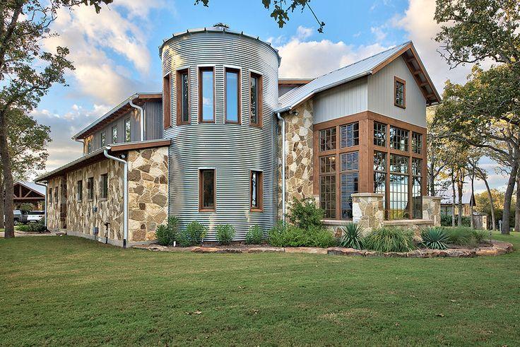 Nine O Ranch Barn Silo House Rural Architecture