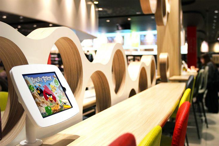 Weblib inaugure le premier McDonald's dédié à la famille à Vélizy 2