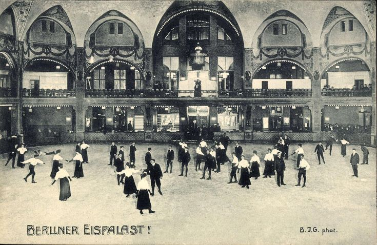 Berliner Eis-Palast ca. 1910, Lutherstr. 22-24