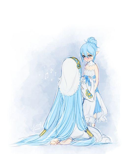Fire Emblem Fates - Azura and Kana <3