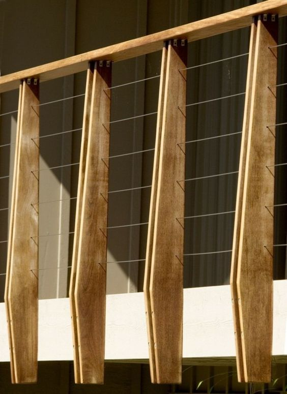 17 Best Ideas About Treppengeländer Holz On Pinterest | Geländer ... Neue Gelander Fur Terrasse Und Balkon Aus Holz Edelstahl Oder Glas