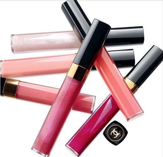 De Chanel lipgloss... Heerlijk!