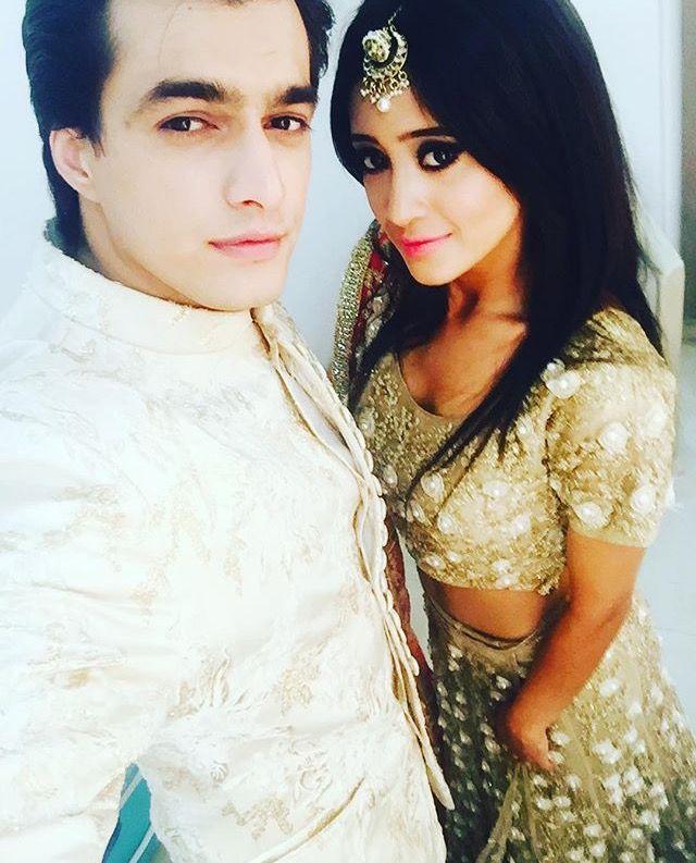 After a long time shivin selfie Mohsin insta update  @khan_mohsinkhan @shivangijoshi18