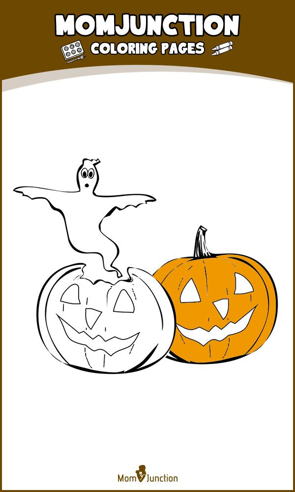 Top 10 Free Printable Halloween Pumpkin Coloring Pages Online If Your Kid Loves