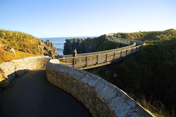Punakaiki walkway, to the pancake rocks, see more, learn more, at New Zealand Journeys app for iPad www.gopix.co.nz