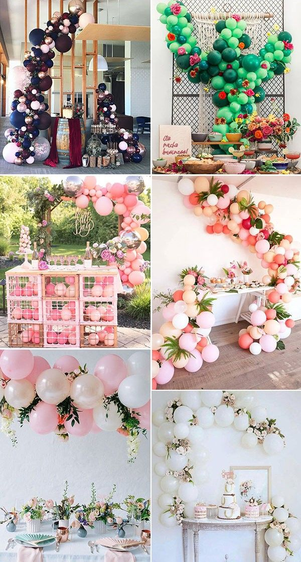 100 Giant Balloon Photo Ideas For Your Wedding Wedding Cake Table Wedding Balloons Table Wedding Balloon Decorations