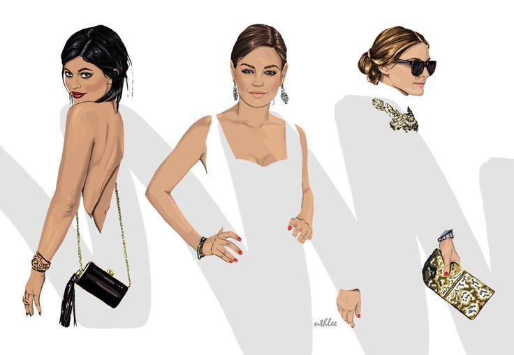NTHLEE illustrations / NATALIA NAZIMEK #art #fashion #inspiration #love #illustration #outfit #cap #beautiful #model #oliviapalermo #milakunis #kyliejenner #digitalart #digital #graphicdesign #madewithwacom #wacom