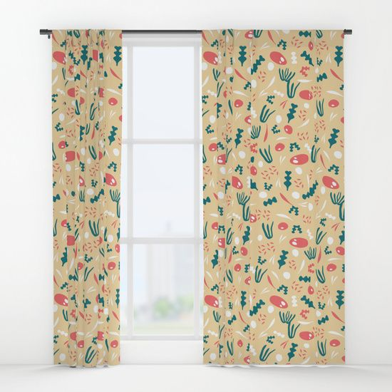 Pattern 3 C Window Curtains