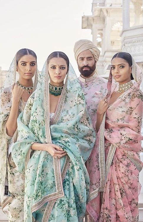 LOVE THE FABRICS!!!!! Sabyasachi Spring Couture 2017: The Udaipur Collection