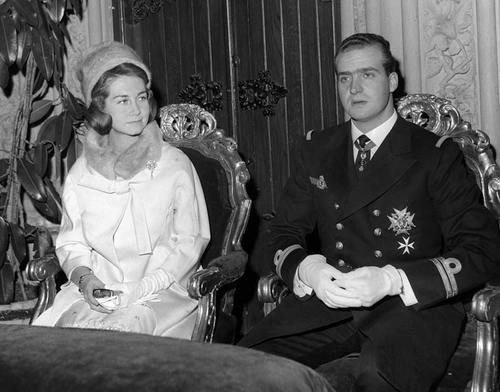 Princess Sofia and Prince Juan Carlos of Spain