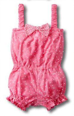 Комбинезон для девочки на лето своими руками - Одежда для малышей - Выкройки для детей - Каталог статей - Выкройки для детей, детская мода