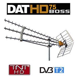 Antenne DAT HD 75 BOSS Televes - UHF TNT - Gain 19 dB - Spécial réception difficile