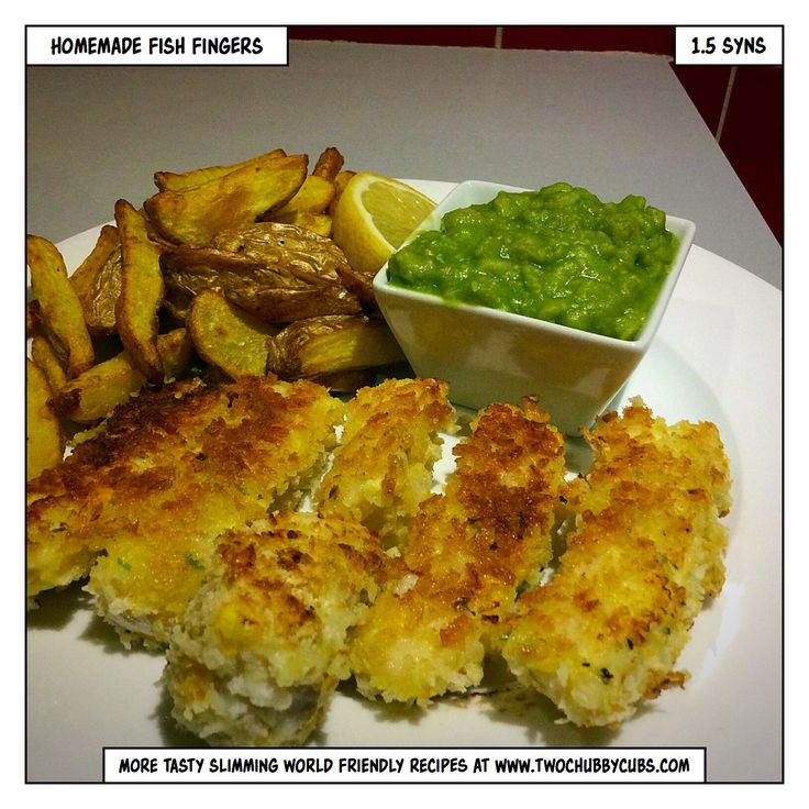 These homemade fish fingers are cheap, tasty, Slimming World friendly, very low syn and easy to make. See, sometimes fishy fingers are good...Remember, at www.twochubbycubs.com we post a new Slimming World recipe nearly every day. Our aim is good food, low in syns and served with enough laughs to make this dieting business worthwhile. Please share our recipes far and wide! We've also got a facebook group at www.facebook.com/twochubbycubs - enjoy!