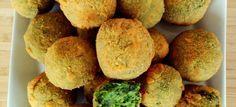 Bocaditos veganos de brócoli y espinacas