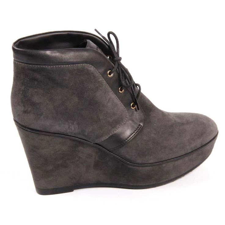 Grey 36.5 EUR - 6.5 US (244mm) Tods ladies ankle boot XXW0QF0F6502UK175J