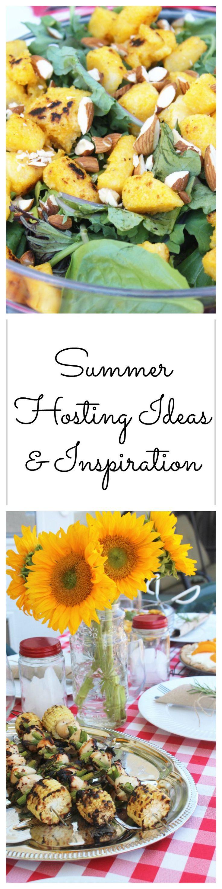 Summer Hosting Ideas & Inspiration