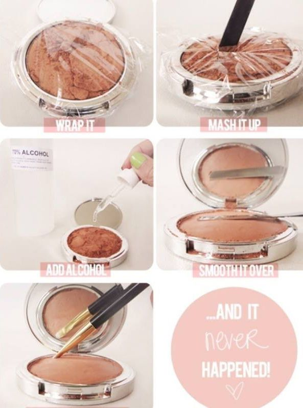 If your makeup kit is broken, don't worry. Because you are 5 steps away from fixing your problem. Must try our easy tip to get back your makeup kit.