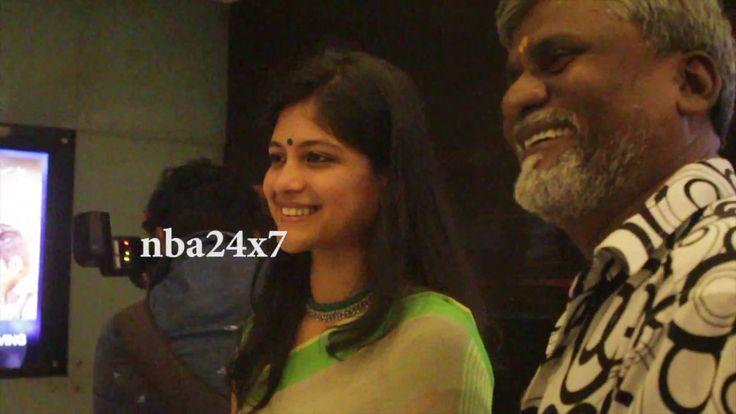 Aruvi Celebrity Show @ Satyam| K. Bhagyaraj,Ram,Pushkar–Gayathri.Harish ...