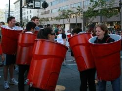 Red solo cup for halloween!
