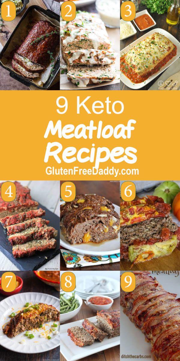 9 Of The Best Keto Meatloaf Recipes Keto Dinner Meatloaf