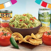 Zest up your guac with RO*TEL® Diced Tomatoes & Green Chilies.