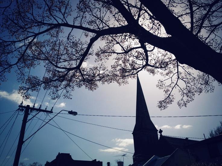 Silhouette, Fitzroy Melbourne