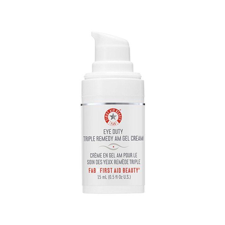 The 15 Best Eye Creams: First Aid Beauty Eye Duty Triple Remedy AM Gel Cream | Allure.com