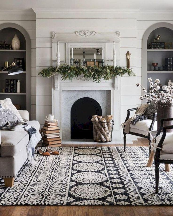 10 Modern Farmhouse Living Room Ideas: 47 Affordable Farmhouse Living Room Décor Ideas For Winter
