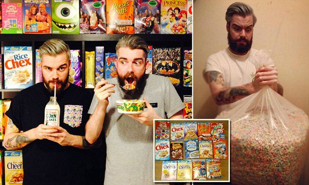 UK's first ever cereal cafe to serve over 100 types of cereal  - LONDON - SHOREDITICH