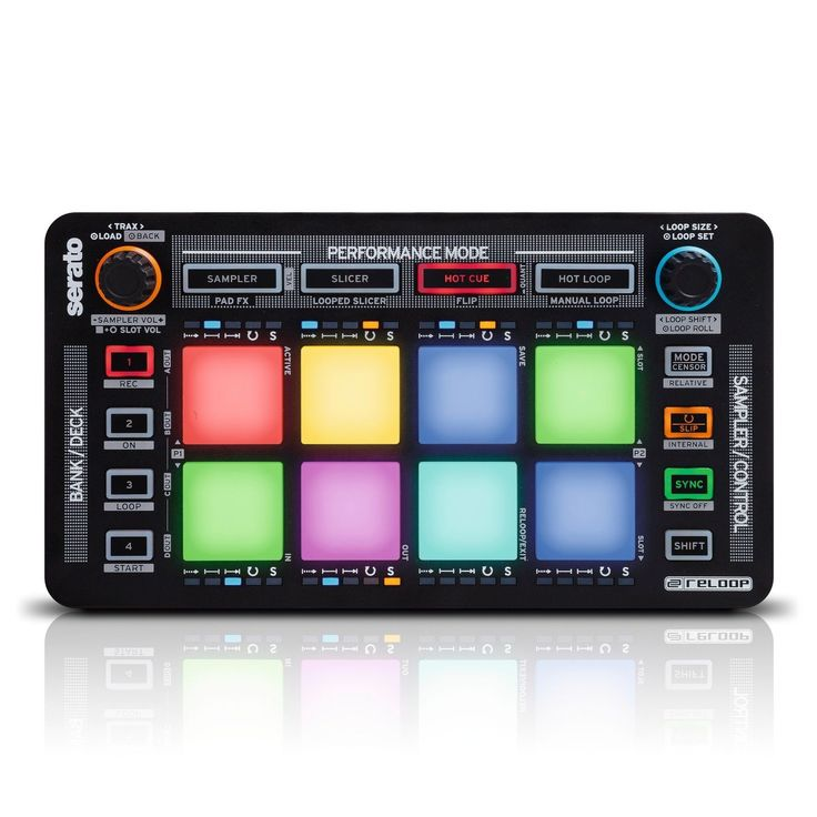 RELOOP NEON USB MIDI CONTROLLER FOR SERATO DJ PAD EFFECTS