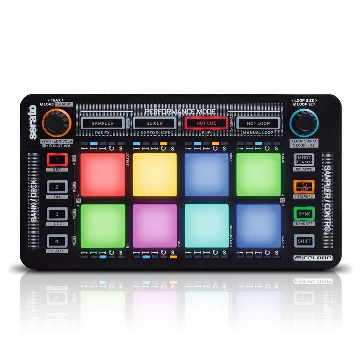 RELOOP NEON USB MIDI CONTROLLER FOR SERATO DJ PAD EFFECTS
