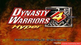 Dynasty Warrior 4 Hyper PC Game Free Download - GamesTamfan.info