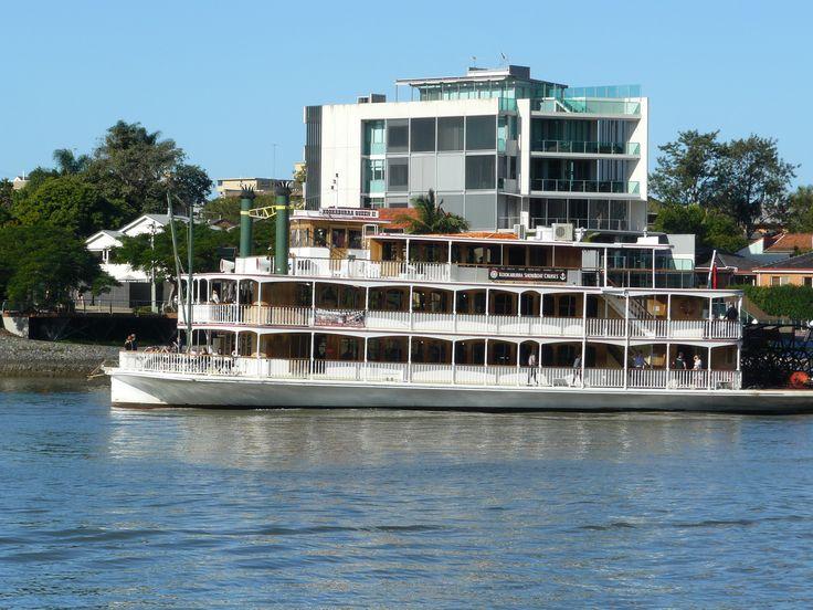 Kookaburra Showboat Cruises Weddings Brisbane Celebrant Neal Foster The Marriage Celebrant performs weddings here.