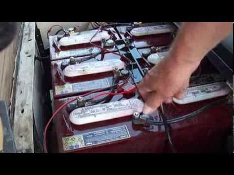 Maintaining Golf Cart Batteries- with some health and safety tips thrown in