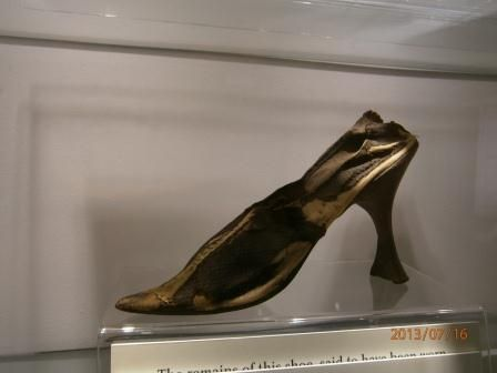 Shoe of Mary Stuart, Queen of Scots