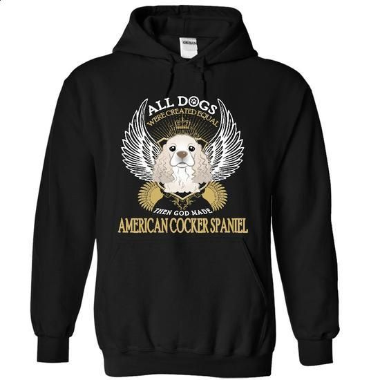 American Cocker Spaniel Dog SkyPin - #shirt #under. CHECK PRICE =>…