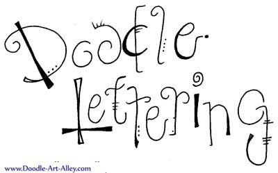 Go to this site for cool lettering techniques:doodle-art-alley.com