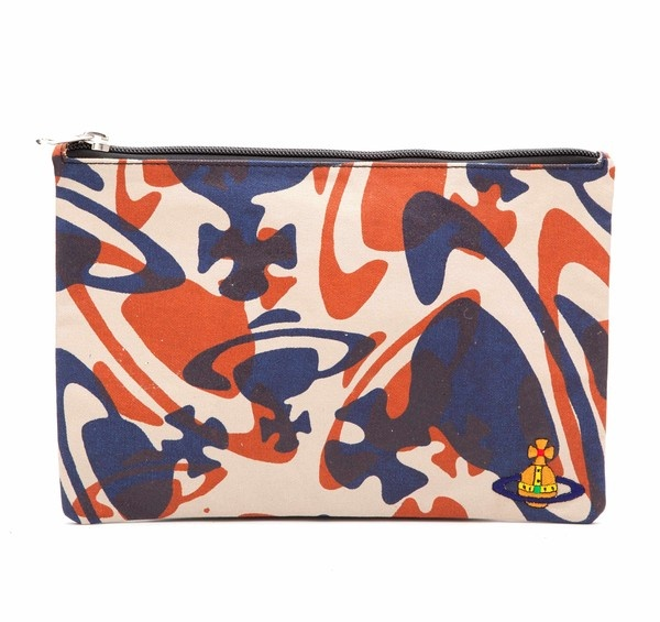 Camouflage Orb Pouch by Vivienne Westwood ~ smokin' for summer and I want it!! ($90)