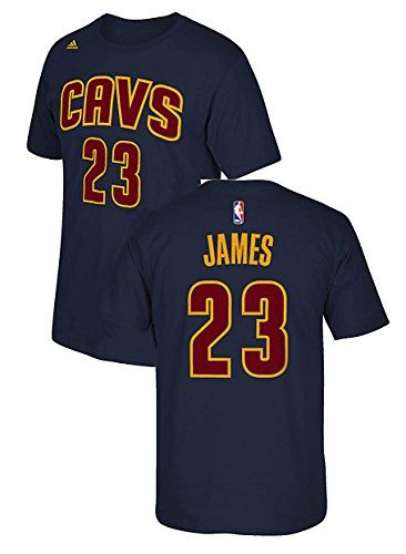adidas Lebron James Cleveland Cavaliers Gametime HD Screened Players T Shirt (Small)