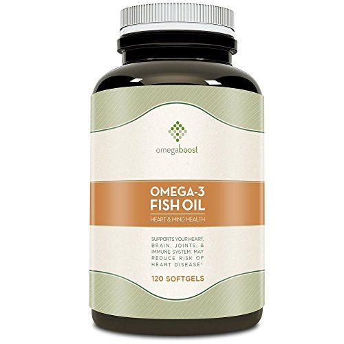 Omegaboost Omega-3 Fish Oil (120 Capsules - 1250mg - - http://freebiefresh.com/omegaboost-omega-3-fish-oil-120-capsules-review/