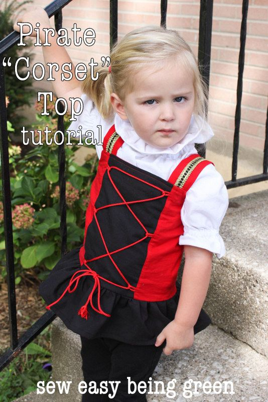 Tutorial: How to Transform a Top in a Corset