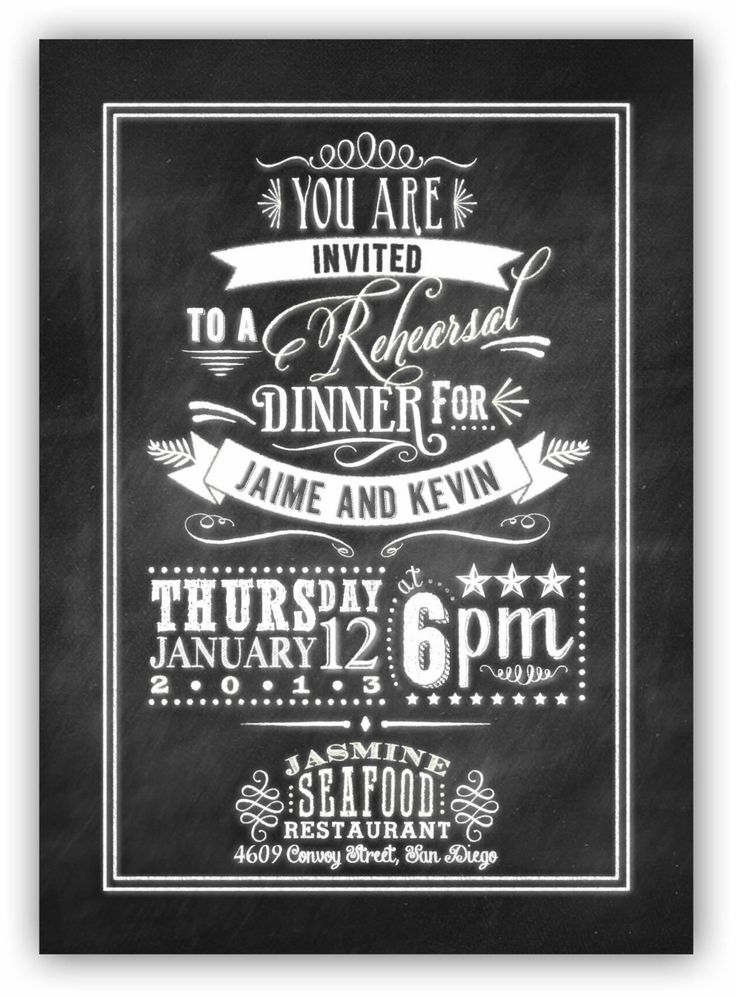 44 Best Homecoming Invite Images On Pinterest | Chalkboard