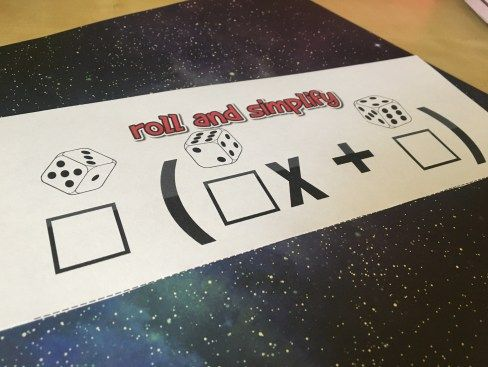 This FREE graphic organizer helps students practice using the distributive property with dice. Check out all 12 distributive property activity & resource ideas.