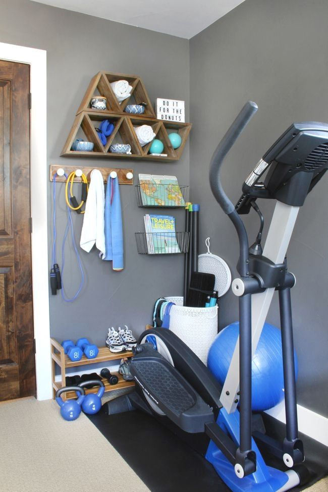 Home Gym Design: Small Space, Big Style! Turn A Corner