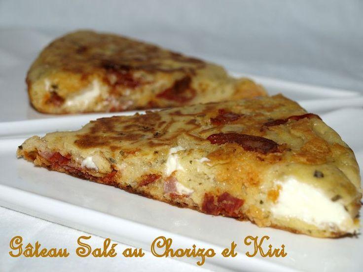 Recette Cake Sal Ef Bf Bd Au Kiri